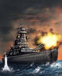 Inferno V4 - Panzerschiff Deutschland by derbz