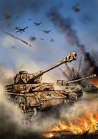 Stahlzeit - Battle of Kursk by derbz