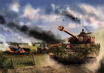 Falaise Pocket- 1944 by derbz