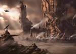 Martian Mega Structures by derbz