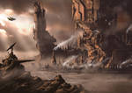 Martian Mega Structures by PeteAshford