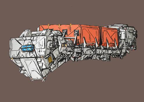 Space Hauler sketch