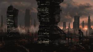 Metropolis mood sketch