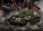 Cromwell Tank Autumn 1944