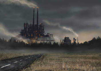 Exclusion Zone: Plant 16 by PeteAshford