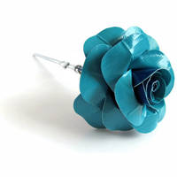 TRON Duct Tape Rose by DuckTape-Rose