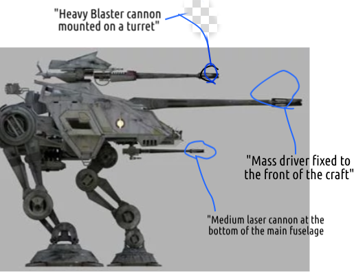 AT-TP With Weapons Marked by Tor1Sokol