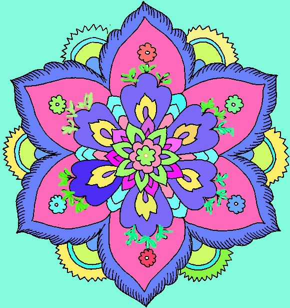 Hard Flower Coloring Pages708008 by ladybug455 on DeviantArt