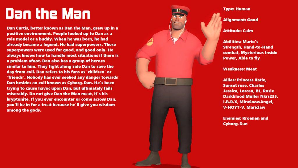 Dan the Man Sheet by CorruptionDA