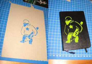 Stencil Personal ID by matschbirne