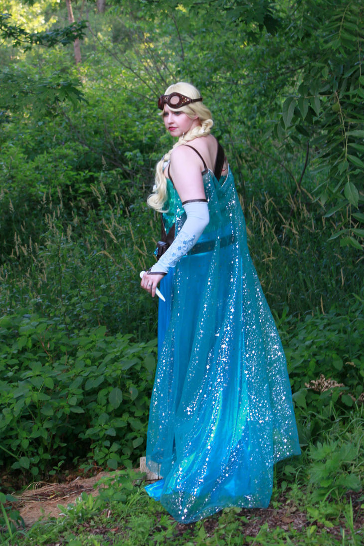 Steampunk Elsa by Elentari-Liv