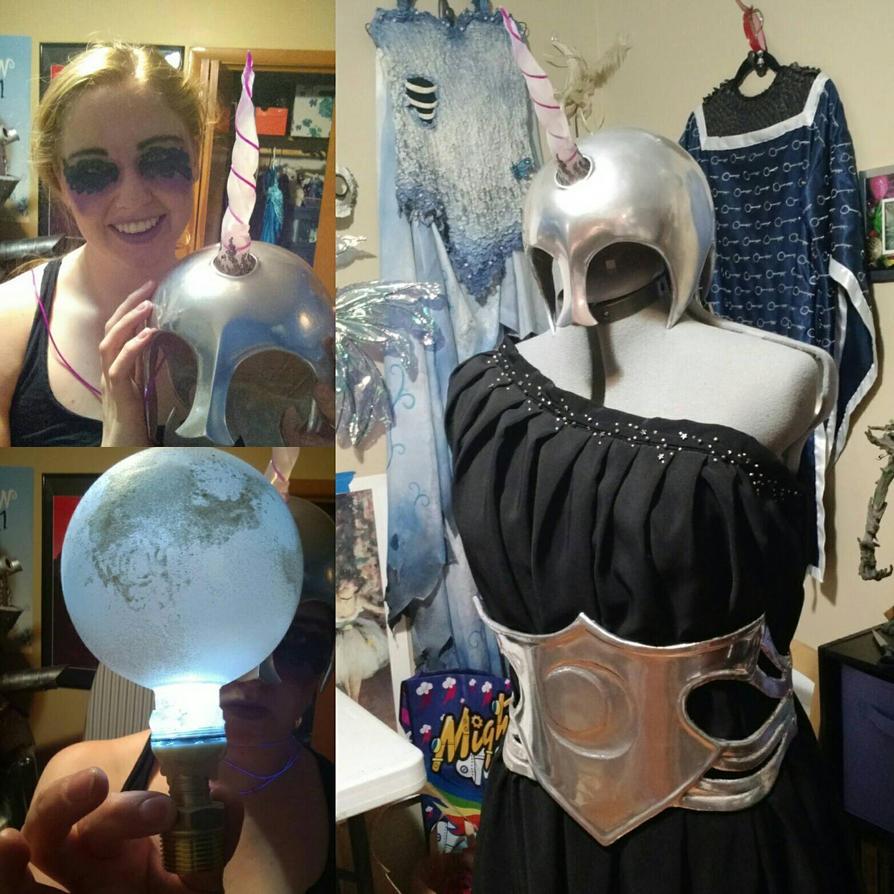 Nightmare Moon cosplay progress 2 by Elentari-Liv