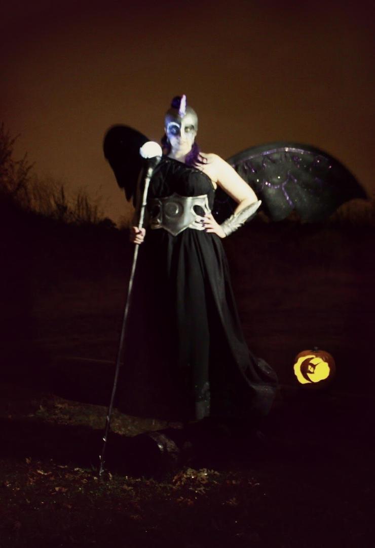 Nightmare Moon Halloween cosplay by Elentari-Liv