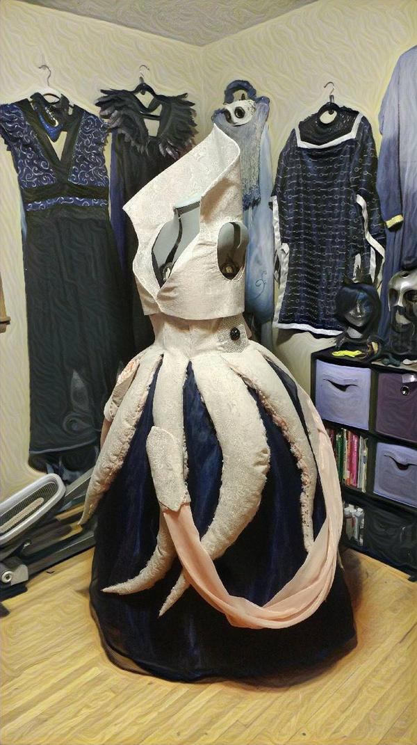 20,000 Leagues Squid Dress by Elentari-Liv