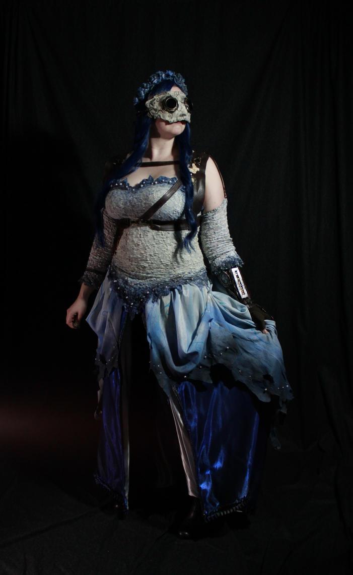 Steampunk Emily Corpse Bride by Elentari-Liv