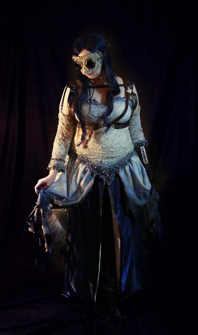Steampunk Corpse Bride 2 by Elentari-Liv