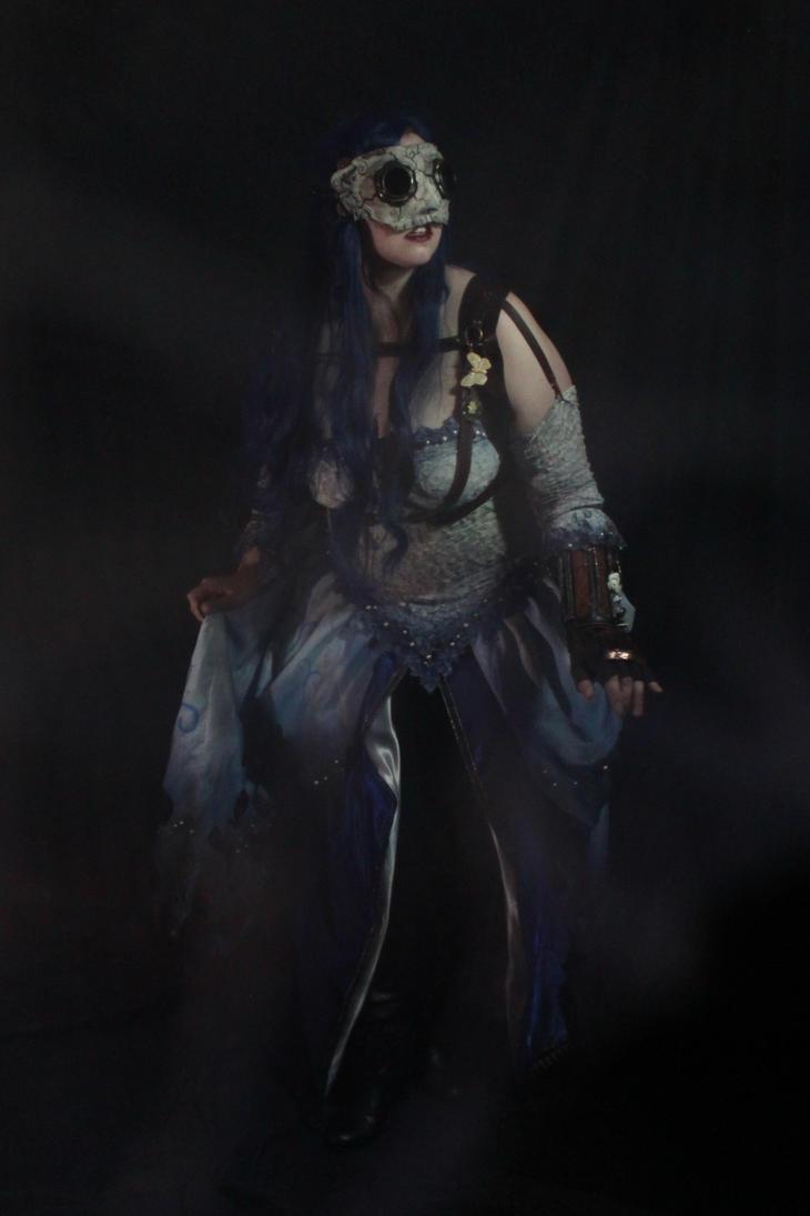 Steampunk Corpse Bride 3 by Elentari-Liv