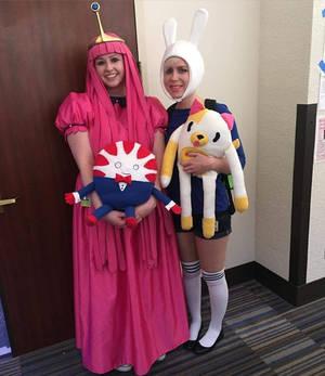 Princess Bubblegum and Fiona Cosplay