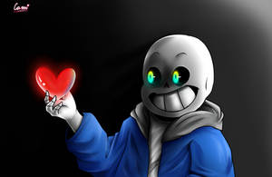 Sans fom Glitchtale! by CamilaAnims