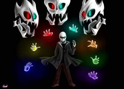 Gaster from Glitchtale!