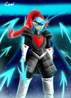 Undyne the Undying by CamilaAnims