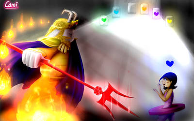Asgore from Glitchtale