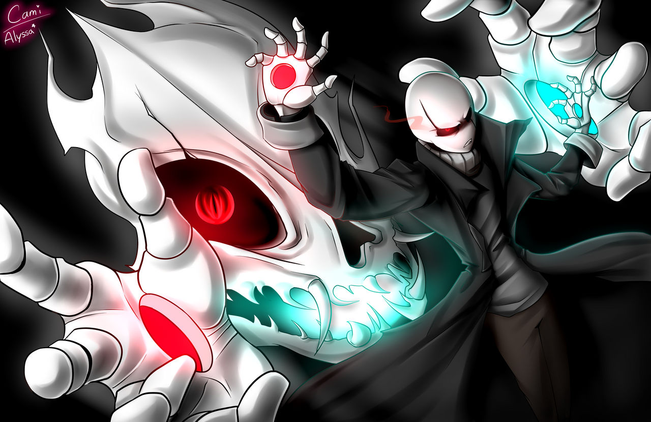 Gaster's new Special Attack 'Duality' - Collab by