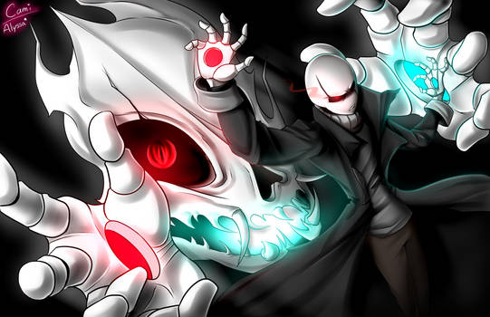 Gaster's new Special Attack  'Duality' - Collab