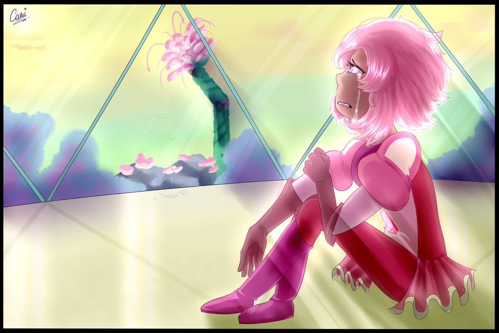 I'm just as important as you...   Pink Diamond by CamilaAnims
