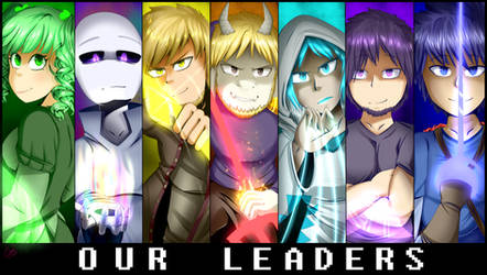 Our Leaders | Glitchtale Prequel Official Poster by CamilaAnims