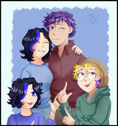 A Happy Family by CamilaAnims