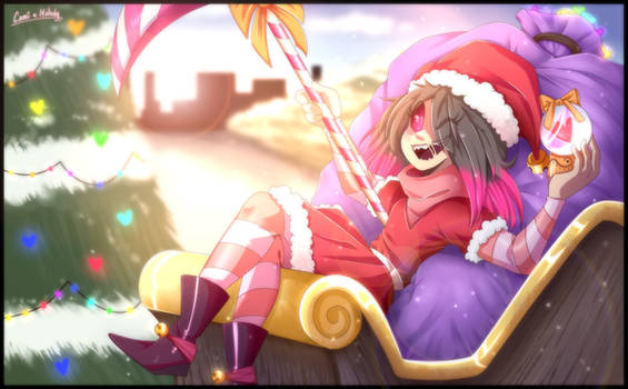 Betty Christmas! Collab with MelodyFireHeart