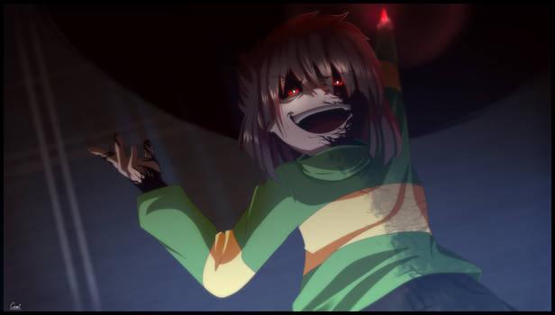 Hate Chara (Screenshot Redraw)