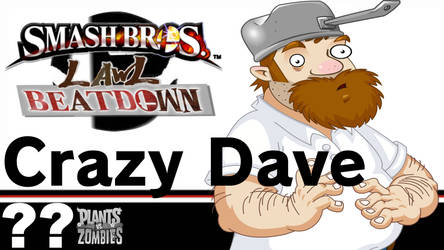 Crazy Dave(Smash Bros Lawl Beatdown) by tech-PUG2