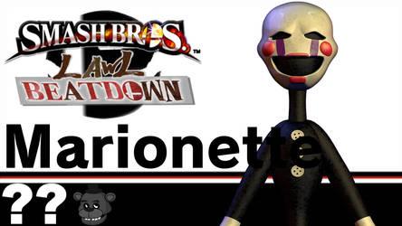 Marionette(Smash Bros Lawl Beatdown) by tech-PUG2
