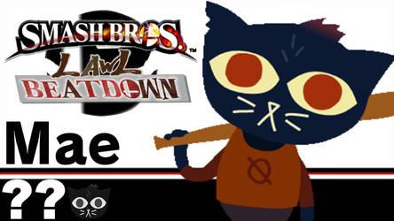 Mae(Smash Bros Lawl Beatdown) by tech-PUG2