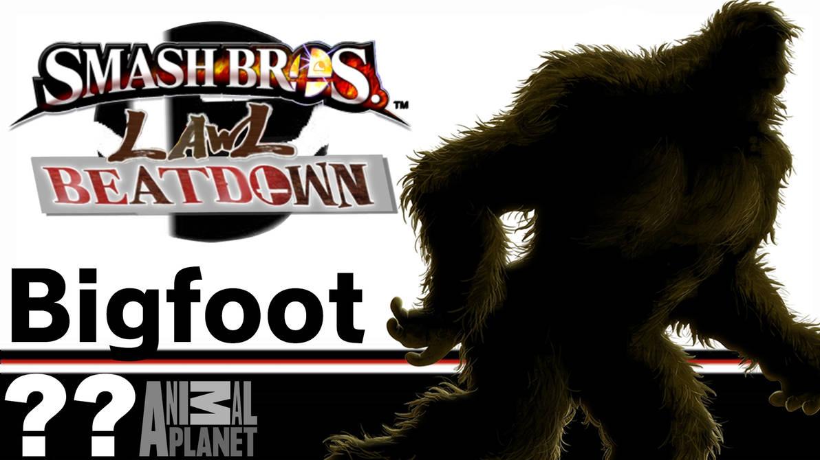 Bigfoot(Smash Bros Lawl Beatdown) by tech-PUG2