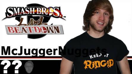 Jesse / McJuggerNuggets(Smash Bros Lawl Beatdown) by tech-PUG2
