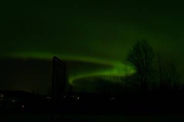 northern lights by sjomannen