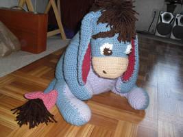 Eeyore in Crochet by JeffrettaLyn