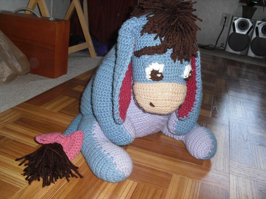 Eeyore In Crochet By Jeffrettalyn On Deviantart