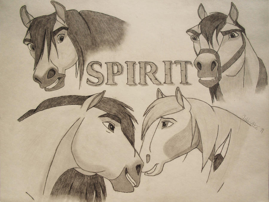 Art Trade: Spirit by JeffrettaLyn