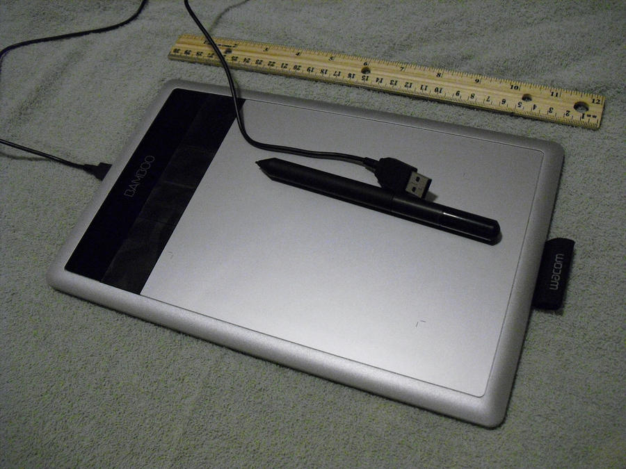 Wacom Bamboo Capture Tablet: A Review by JeffrettaLyn