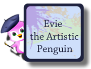 Evie the Artistic Penguin
