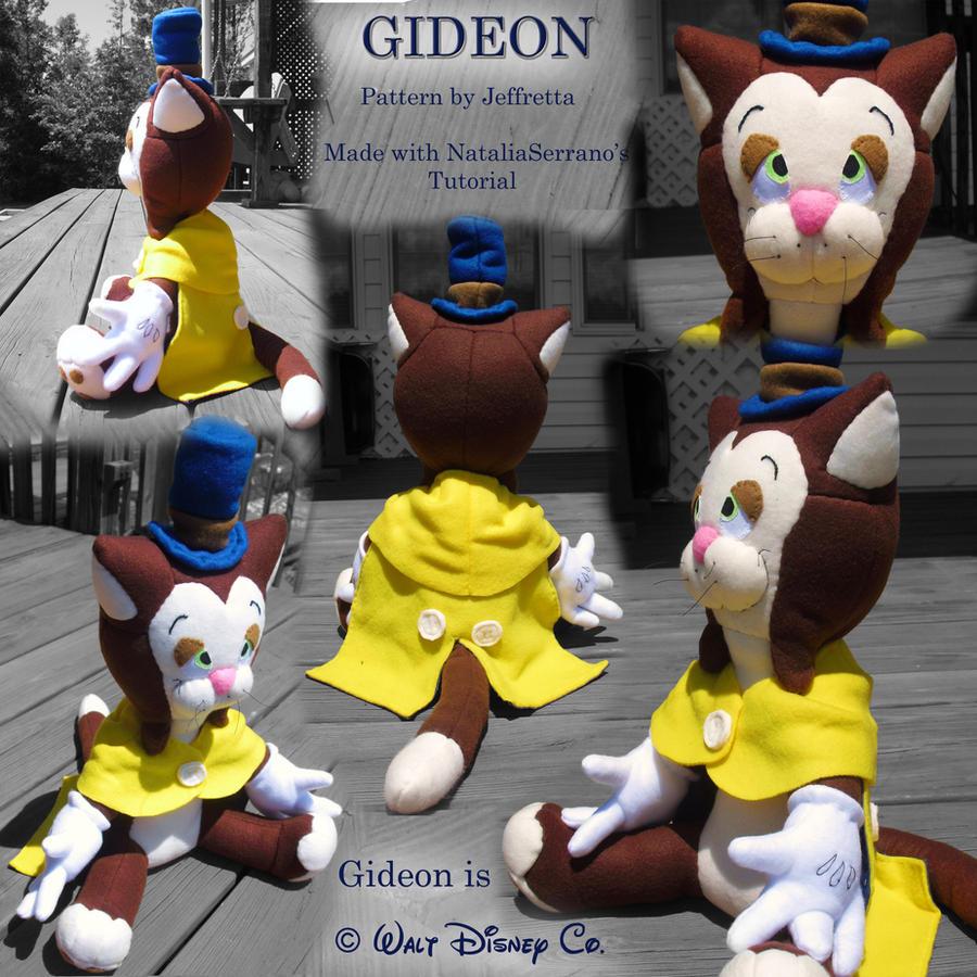 Gideon Plush - Other Views by JeffrettaLyn