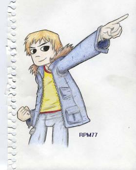 Pilgrim sketch1 colored
