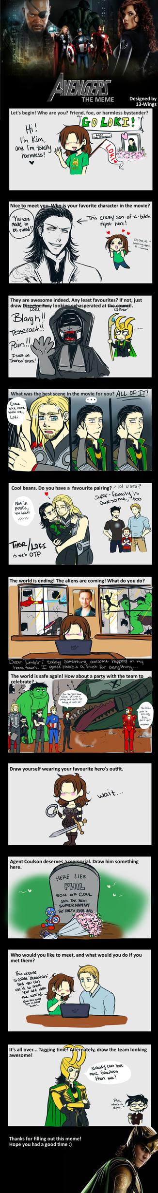Avengers meme by sessystalker