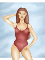 Swimsuit by RysioNeko-chan