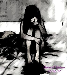 Depressed Anime Girl By Strify Divinae On Deviantart