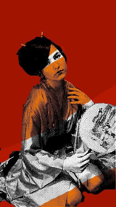 Lone Geisha Girl by DarrenOfTheShan